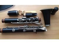 Buffet Crampon E11 Clarinet, nice condition, wood.