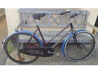 Vintage ladies bsa cycle