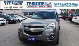 2012 Chevrolet Equinox 2LT Power Liftgate Heated Seats Rear Came