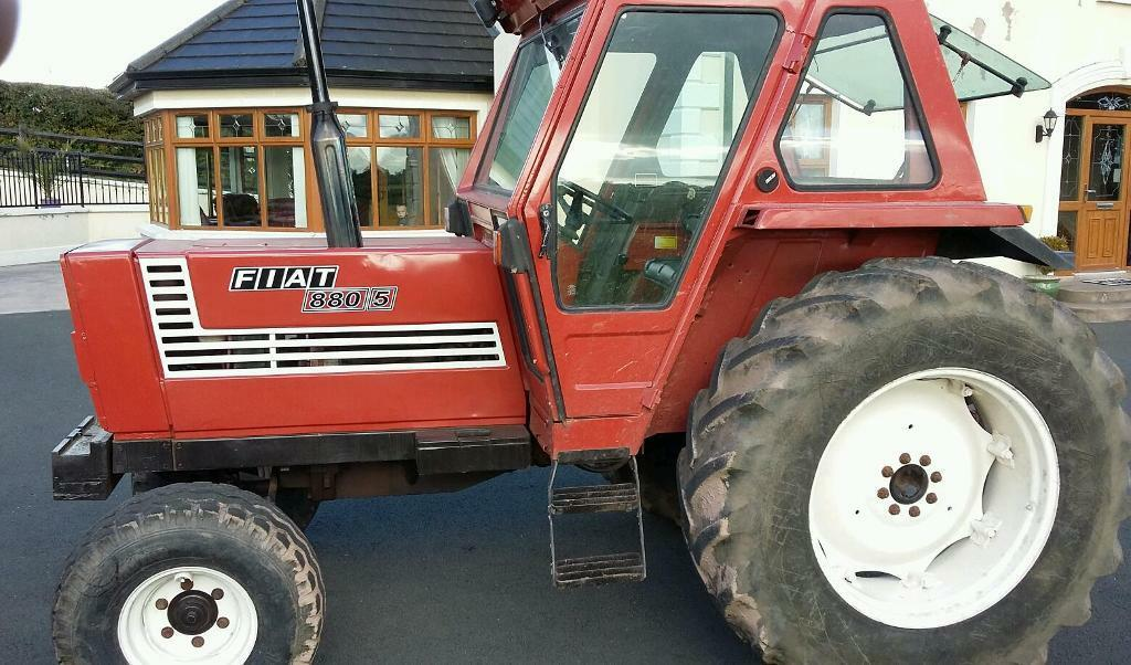 880 Ford Tractors : Fiat cylinder tractor in dungannon county tyrone