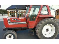 Fiat 880 5 Cylinder Tractor