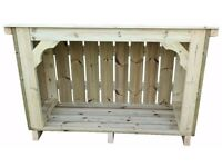Premium Heavy Duty Log Store for Exceptional Garden Storage (The Coppice)