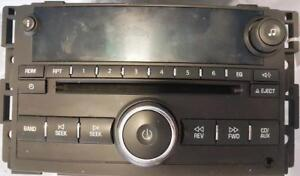 RADIO RECEIVER -AM / FM - CD PLAYER - TESTED for 2006 to 2011 CHEVY HHR - CHEVROLET HHR EXTENDED SPORTS VAN $75