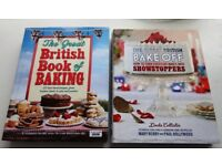 2 x Great British bake of books, excellent condition