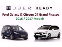 PCO Seven Seater / PCO 7 seater / PCO Car Hire / Rent / Uber / Ford Galaxy / Grand Picasso
