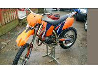 KTM 125 SX 2005 PLUS LOADS OF SPARE PARTS