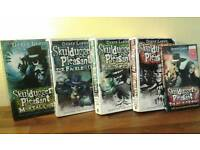 5 Skulduggery pleasant books