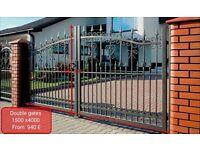 Wrought iron gates/driveway gates/garden gates/fences/balconies/Stair railings/Burglar bars