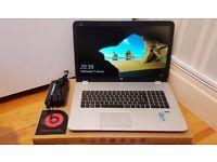 "HP Envy 17 j141na 17.3"" SSD Intel i7, 2.5GHz, 1TB, 16GB Laptop **BIG UPGRADES!**"