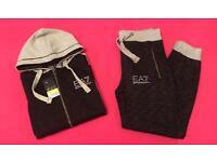 Black Or LT Grey Full Jogging Tracksuit Brand New