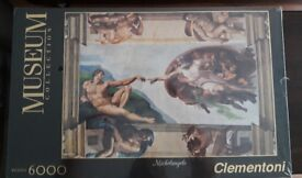 Museum collection Michelangelo 6000 puzzle