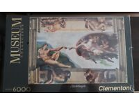 Museum collection Michelangelo 6000 puzzle