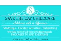 wedding and event childcare