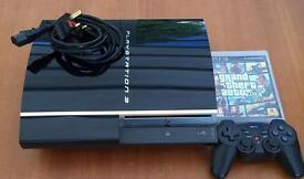 PS3, controller and GTAV