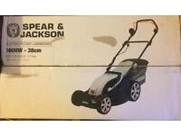 Spear and Jackson electric lawnmower