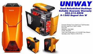 UNIWAY REGENT Customized Gaming Desktop Intel Core i3, i5, i7 starting form $300