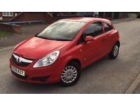 2009 Vauxhall Corsa Cat c Mot + Tax