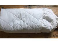 Single Cotton Quilted Mattress Protector -John Lewis