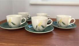 Gorgeous vintage tea/coffee cups with saucer and jug