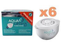 Aqua optima 60 day water filter cartridges - box of 6