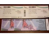 2 Tickets For Sale for The Clothes Show Live in Birmingham 2nd Dec. Inc entry to fashion show at 3pm
