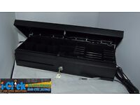 Heavy Duty Black Flip Top Cash Drawer 24v RJ11 / RJ12 FlipTop Base 460 Anker
