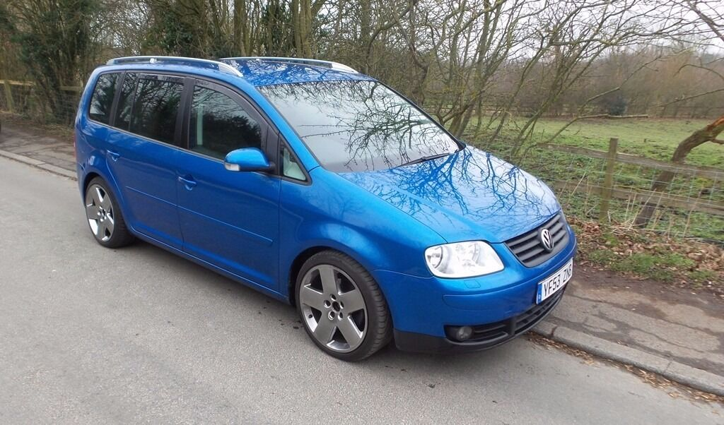 2003 Volkswagen Touran Sport 20 Tdi Blue Great Condition 11 Months