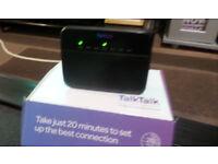 For Sale - TalkTalk Router