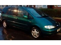 ***BARGAIN*** 2000 FORD GALAXY GHIA 2.3 (7 Seater)