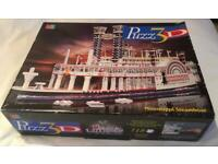 3D Jigsaw Puzzle- Mississippi Steamboat