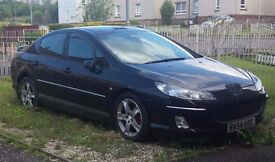 Peugeot 407 2 L HDI Spares or repair lovely car even has its own telephone