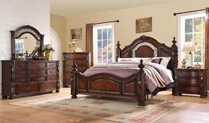 8 PCS QUEEN BEDROOM SET FOR 999$