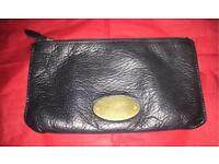 Genuine leather mulberry purse
