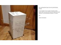 Eurowall/pegboard type revolving desk storage collect stonehaven