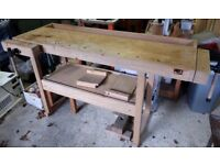 Anke woodworking bench, made in Germany
