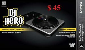 PS3 DJ Hero Stand-Alone Turntable (for PS2 or PS3) - BRAND New