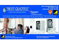 Worcester Bosch boiler install - Boiler repair - Boiler servicing - Local Gas Safe Reg Plumber