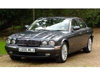 Jaguar XJ6, 3Litre,V6. Metallic Slate grey with beige leather interior Excellent condition