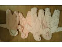 Baby girls winter suits