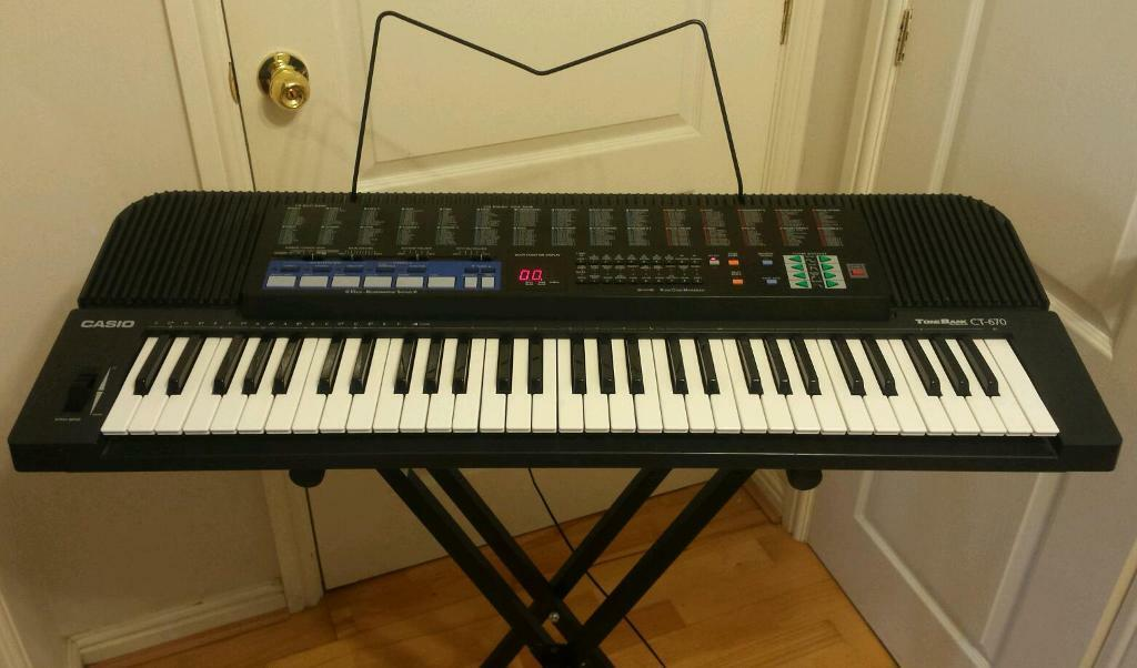 61 key casio ct 670 tonebank keyboard in pontefract west yorkshire gumtree. Black Bedroom Furniture Sets. Home Design Ideas
