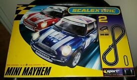 Scalextric Mini Mayhem Track Set