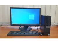 Dell PC Computer, Intel Core i5-6500, Windows 10, 8GB RAM, 500GB HDD & 128GB SSD