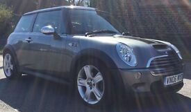 2006 MINI COOPER S R53 170BHP SUPERCHARGER XENONS PANORAMIC ROOF 70K FSH TOTALLY STOCK SWAP PX WHY?