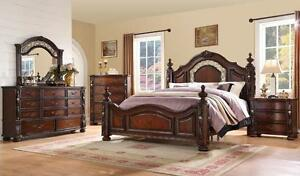 MASTER BEDROOM 8 PCS QUEEN SIZE SET FROM 999$!!! HURRY UP LIMITED TIME