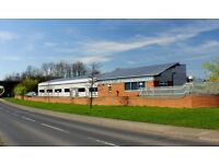 PRIME INDUSTRIAL UNIT & ADJOINING OFFICE SPACE AVAILABLE FOR RENT IN BROMPTON-ON-SWALE, RICHMOND