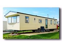 SUMMER HOLIDAYS 21st-28th JULY Devon Cliffs Sandy Bay. 8 berth Static holiday home for let.