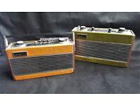 2 Vintage Roberts Radios