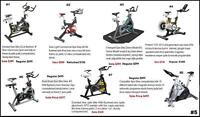 7 Different Discounted Spin Bikes 4 Floor Model 3 Brand New