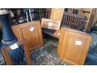 kitchen units doors soild oak