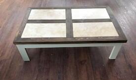 Up-cycled coffee table